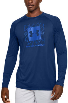 Under Armour Camiseta de manga larga UA Tech™ 2.0 Graphic para hombre Azul