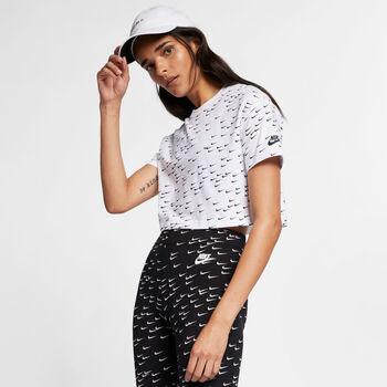 Nike Crop Top NSW Essential mujer Blanco