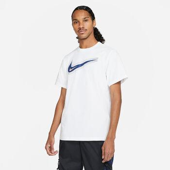 Nike Camiseta Manga Corta Swoosh hombre Blanco