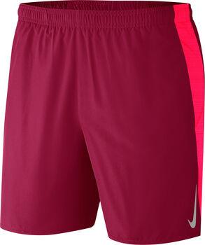 Nike Short M NK CHLLGR SHORT 7IN 2IN1 hombre Rojo