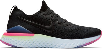 Nike Epic React Flyknit 2 mujer Negro