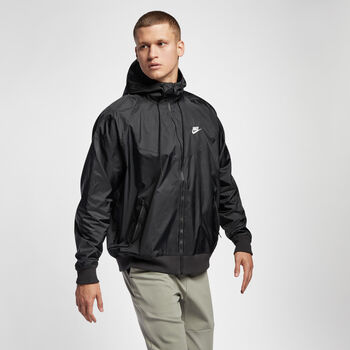 Nike Chaqueta NSW Windrunner hombre Negro