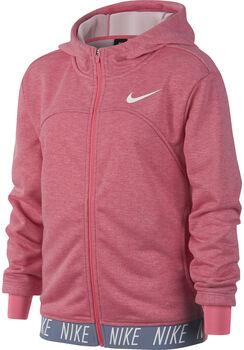 Nike Dry Sudadera con cremallera  niña Rojo