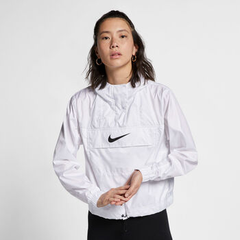 Nike Chaqueta Sportswear Animal Print mujer Blanco