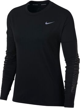 Nike Dry Elmnt Top Ls Gx Mujer Negro