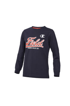 Champion Camiseta m/l Long Sleeve T-Shirt niño