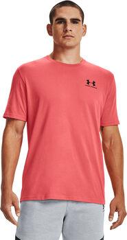 Under Armour Camiseta manga corta Sportstyle Left Chest hombre Rojo