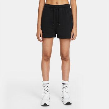 Nike Pantalón Corto Air Fleece mujer Negro
