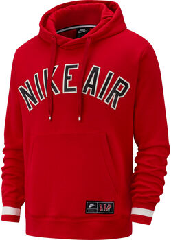 Nike Air Men's Fleece Hoodie  hombre Rojo