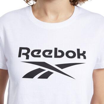Reebok Camiseta de manga corta big logo mujer