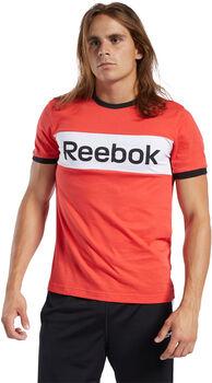 Reebok Camiseta manga corta Training Essentials Linear Logo hombre