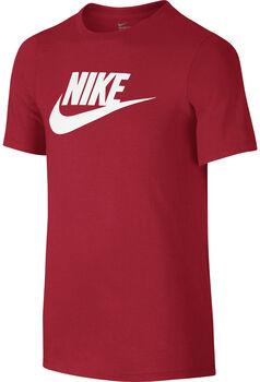 Nike CTN CREW FUT ICON TD TEE YTH niño Rojo