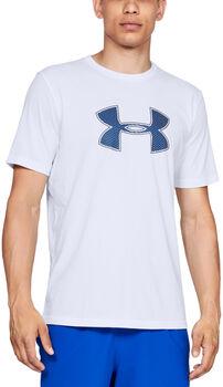 Under Armour Camiseta de manga corta UA Big Logo para hombre Blanco