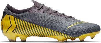 Botas de fútbol para superficies firmes Nike Vapor 12 Elite (FG) Gris