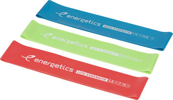 ENERGETICS Set bandas fitness 1.0 Blanco