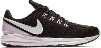 Nike Air Zoom Structure 22 mujer Negro