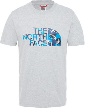 The North Face Camiseta Extent II Logo hombre Gris