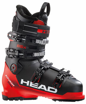 Head Bota ADVANT EDGE 85X BLACK-RED hombre