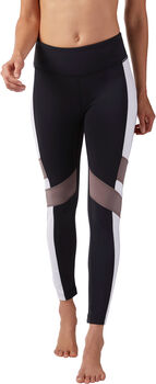Reebok lux Tight - Color Block Mujer Negro