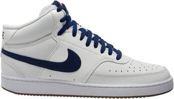 Nike Zapatillas de baloncesto Court Vision Mid hombre Blanco