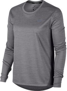 Nike Camiseta m/lNK MILER TOP LS mujer