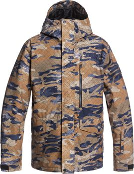 Quiksilver Chaqueta mission printed hombre