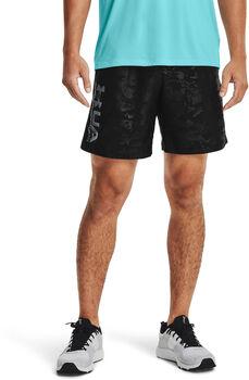 Under Armour Shorts Woven Emboss hombre Negro