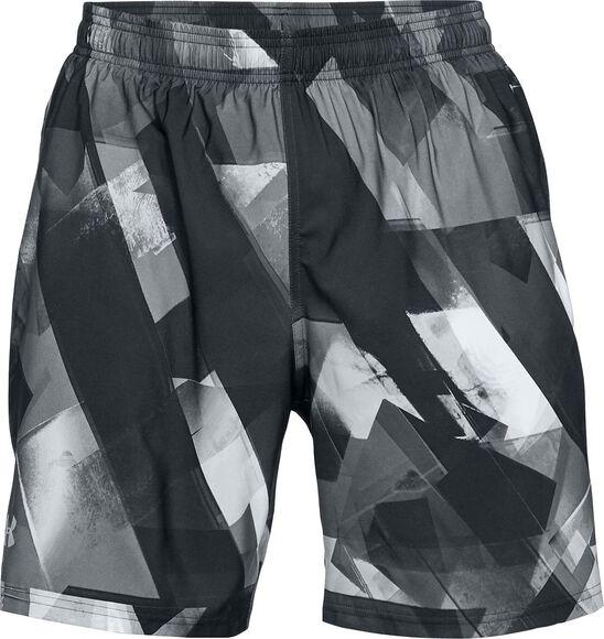 Pantalón corto Launch SW estampado de 20 cm para hombre