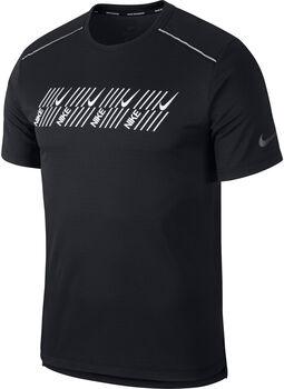 Nike Camiseta Dri-FIT Miler hombre Negro