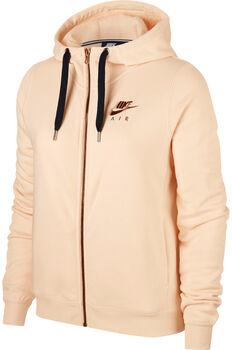 Nike Sportswear Rally Hoodie Fz Air mujer Naranja