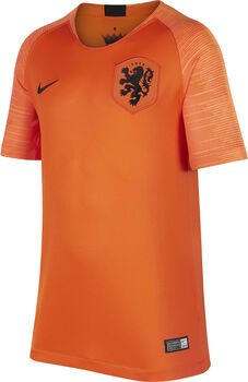 Camiseta Nike Netherlands Stadium Home 2018 para niño Naranja