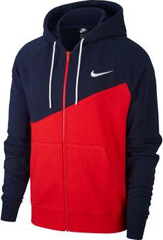 Nike SudaderaNSW SWOOSH HOODIE FZ FT hombre Rojo