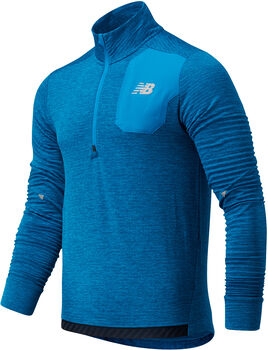 New Balance Camiseta manga larga Impact Run hombre Azul