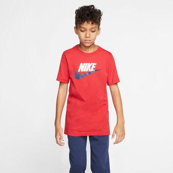 Nike Camiseta manga corta Sportswear Rojo