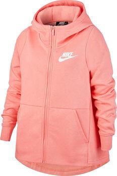 Nike Sudadera G NSW HOODIE FZ STMT niña Rosa