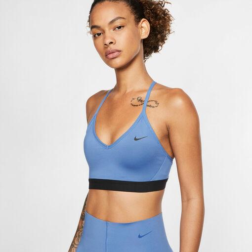 Nike - Sujetador NIKE INDY BRA - Mujer - Sujetadores deportivos - Azul - XL