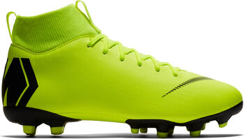 Nike Botas fútbol  Mercurial JR Superfly 6 Academy GS MG  niño Amarillo