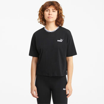 Puma Camiseta manga corta Amplified  mujer