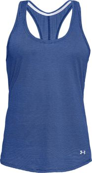 Under Armour Camiseta de tirantes de running Threadborne™ Streaker mujer Azul