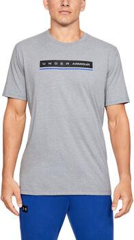 Under Armour Camiseta de manga corta UA Reflection para hombre Gris