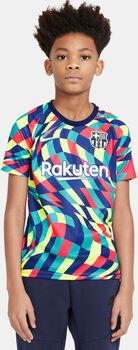 Nike Camiseta Calentamiento Fc Barcelona 20/21 Azul