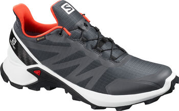 Salomon Zapatillas trail running SUPERCROSS GTX hombre Gris