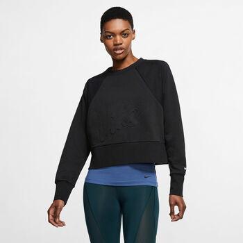 Nike Camiseta m/lNK DRY GET FIT LUX FC CW EMB mujer
