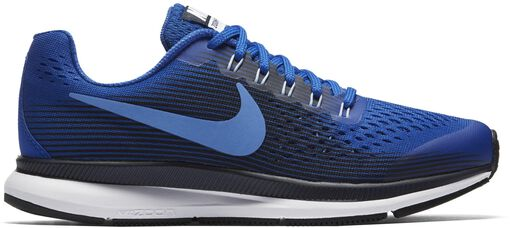 Nike - Nike Air Zoom Pegasus 34 (GS) - Unisex - Zapatillas running - Azul - 37,5