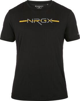 ENERGETICS Camiseta Manga Corta Malou II ux hombre Negro