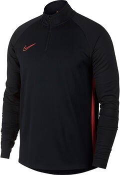 Nike Camiseta m/l M NK DRY ACDMY DRIL TOP hombre Negro