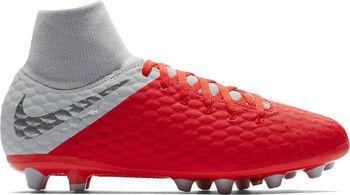 b8c6a8af29ab8 Botas fútbol Nike Hypervenom Phantom 3 Academy DF AGPRO Niños