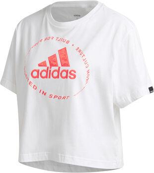 adidas Camiseta manga corta Circled Graphic mujer
