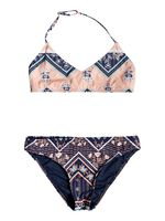 Heart In The Waves - Conjunto de Bikini Triangular Bralette para Chicas 8-16