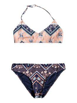 Roxy Heart In The Waves - Bikini Triangular Bralette para Chicas 8-16 niña